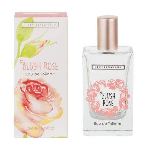 Blush Rose Eau De Toilette Perfume EDT 50ml Heathcote & Ivory